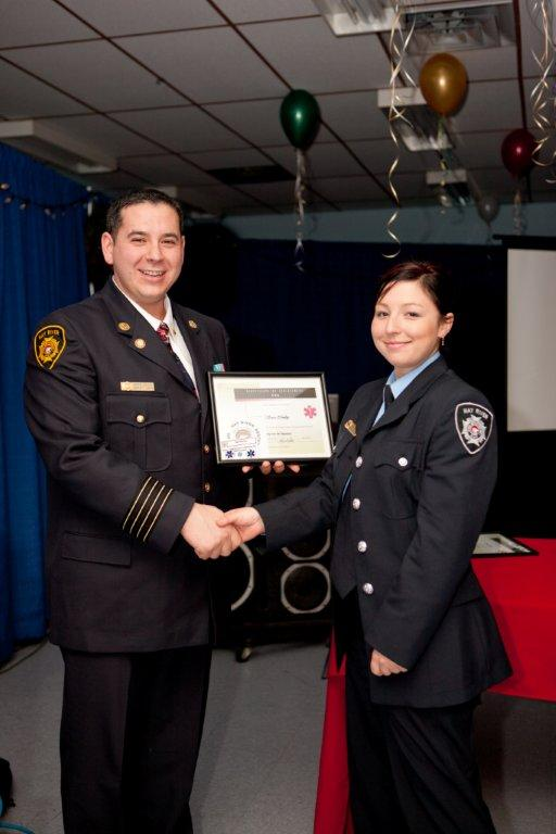 Firefighter Conley - EMR Certificate