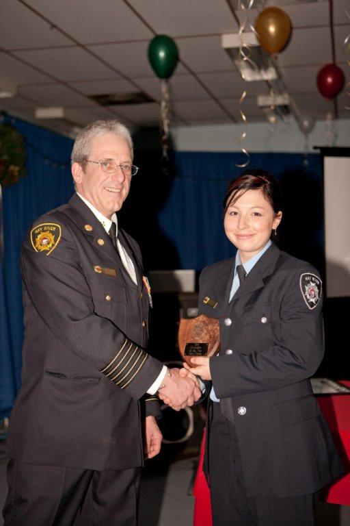 Firefighter of the Year - Firefighter Conley