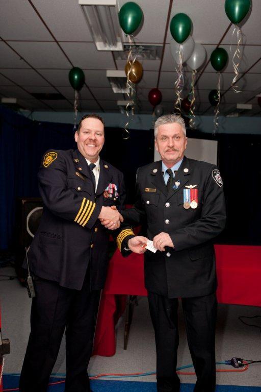 Five Year Award - Firefighter Hogan