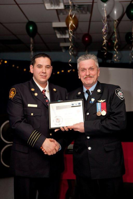 Firefighter Hogan - EMR Certificate