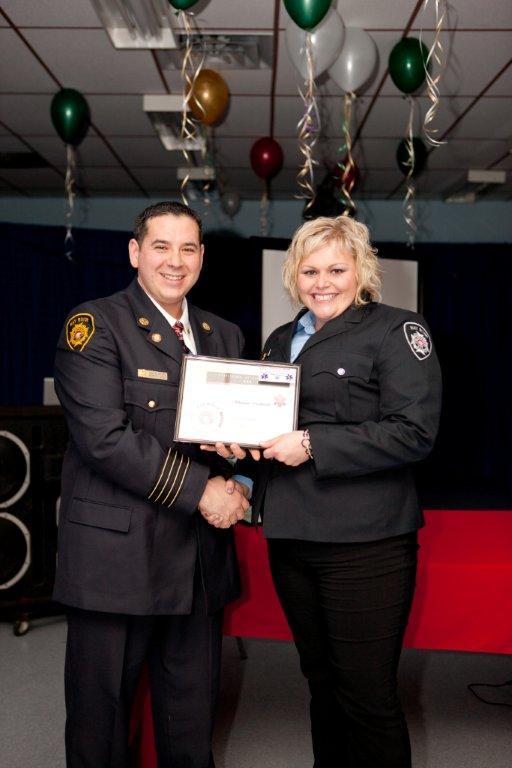 Firefighter Luckhardt - EMR Certificate