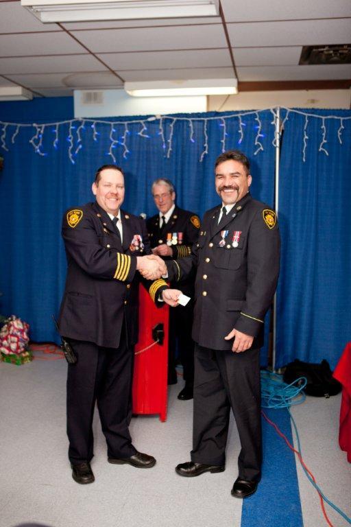Ten Year Award - Firefighter Sanguez